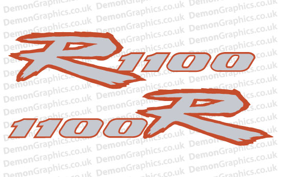 Bike Decal (Pair of) Suzuki 7