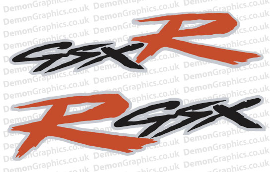 Bike Decal (Pair of) Suzuki 9