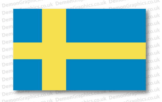 Sweden Flag (Pair)