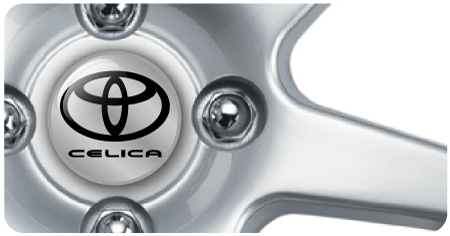 Wheel Centre Badges - Toyota Celica (set of 4)