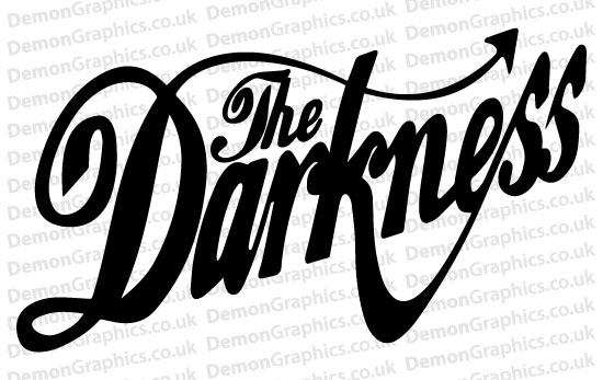 The Darkness Sticker