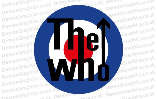 The Who 1 Sticker
