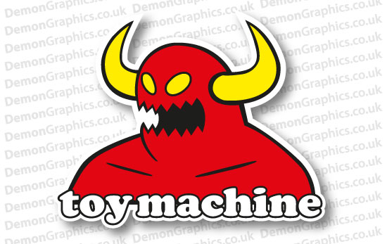 Toy Machine Skateboards Sticker