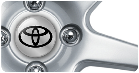 Wheel Centre Badges - Toyota (set of 4)
