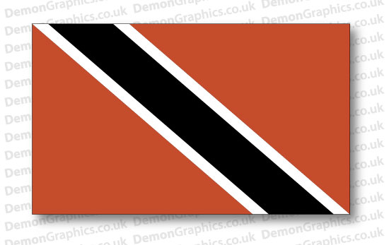 Trinidad And Tobago Flag (Pair)