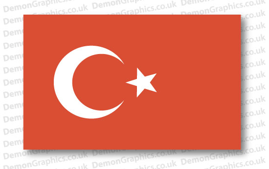 Turkey Flag (Pair)