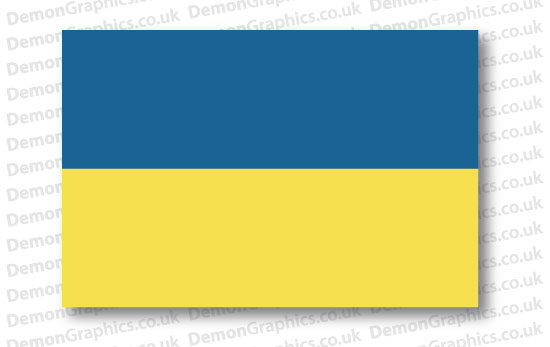 Ukraine Flag (Pair)
