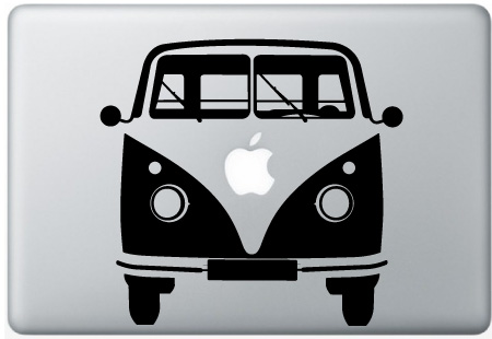 MacBook VW Camper Van