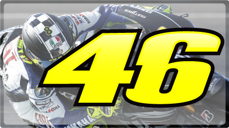 Racing Numbers Valentino Rossi Racing Numbers Valentino