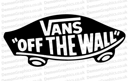 Vans Off The Wall Sticker (Pair)
