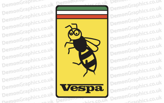 Bike Decal (Pair of) Vespa 5