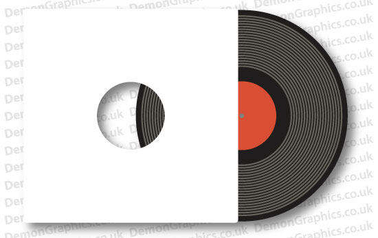 Vinyl Record Sticker