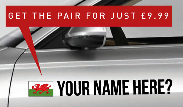 Wales Tag £9.99 for both sides
