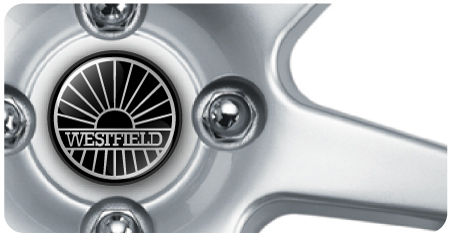 Wheel Centre Badges - Westfield (set of 4)