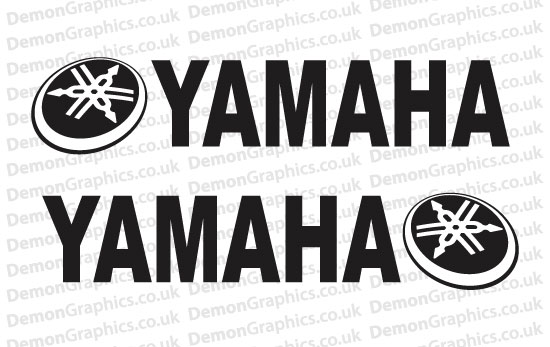 Bike Decal (Pair of) Yamaha 18