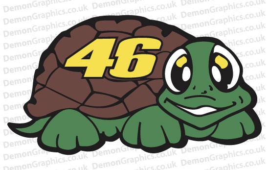 Bike Decal (Pair of) 46 Turtle