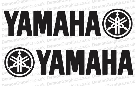 Bike Decal (Pair of) Yamaha 2