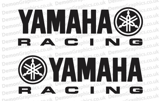 Bike Decal (Pair of) Yamaha 3