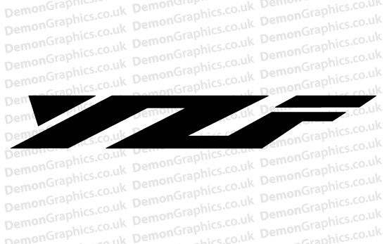 Bike Decal (Pair of) Yamaha 8