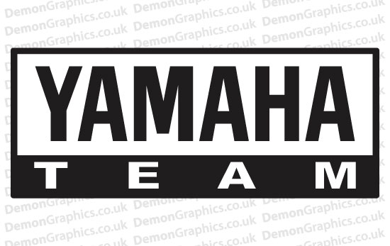 Bike Decal (Pair of) Yamaha 14
