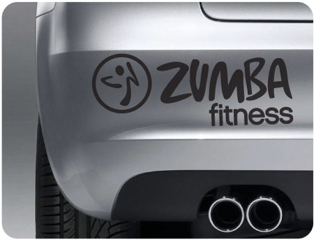 Zumba Bumper Stickers