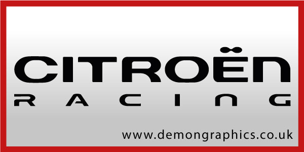 Citroen Racing Sticker