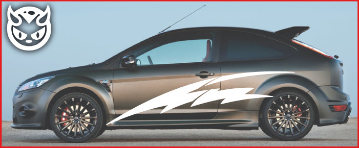 Car Graphics 002 �65.00 both sides