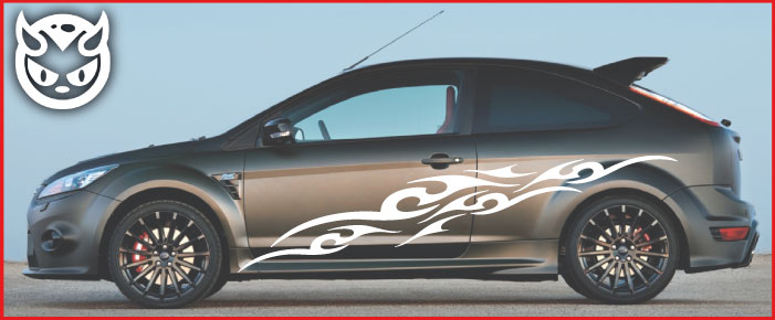 Car Graphics 003 £65.00 both sides