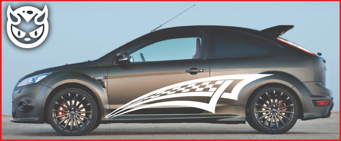 Car Graphics 004 �65.00 both sides