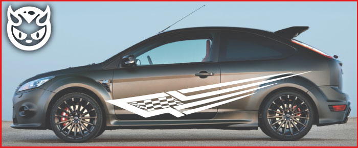 Car Graphics 005 £65.00 both sides