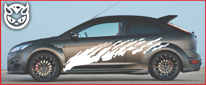 Car Graphics 006 �65.00 both sides