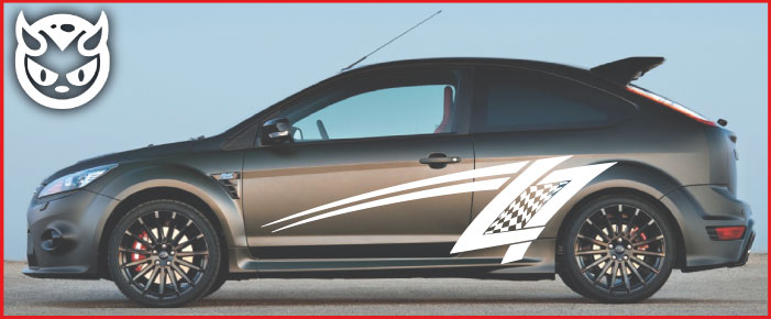 Car Graphics 007 £65.00 both sides