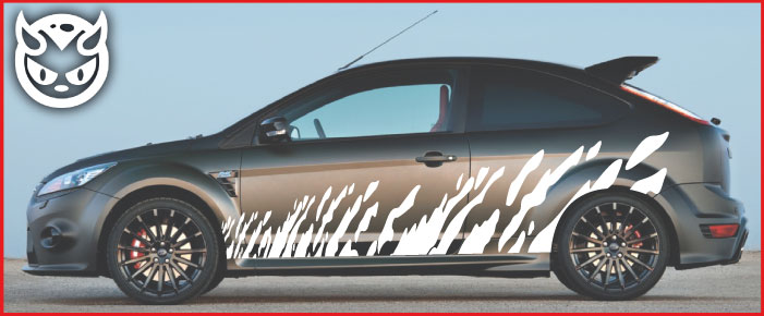 Car Graphics 008 �65.00 both sides