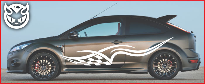 Car Graphics 009 �65.00 both sides