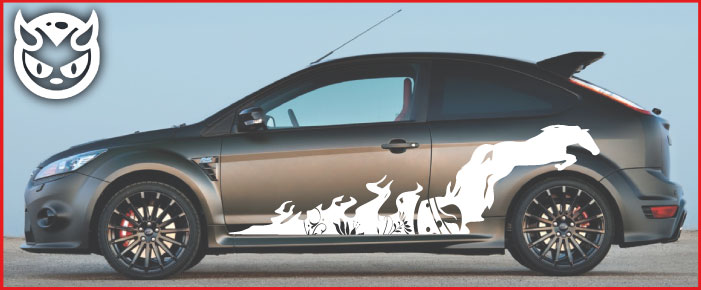 Car Graphics 012 £65.00 both sides