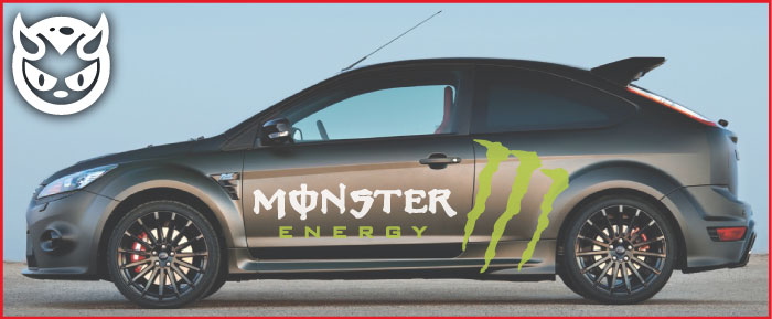 Car graphics 031 monster energy £75 00 both sides