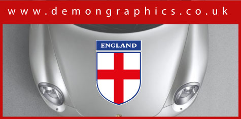 Bonnet - England Shield