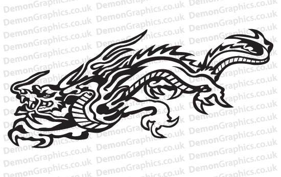 dragons   car graphics by demon graphics  makers of high