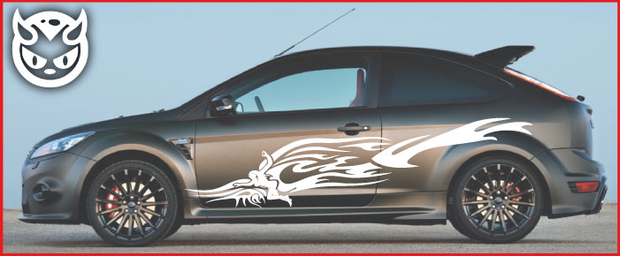 Car Graphics 016 £65.00 both sides