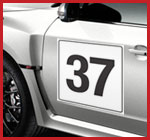 Vehicle door number from Demon Graphics