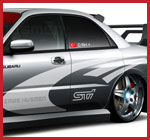 Impreza graphics by Demon Graphics