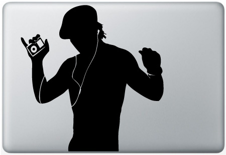 MacBook iPod Man Dancing