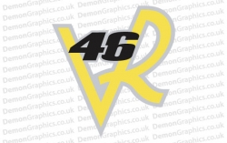 Bike Decal (Pair of) 46 VR