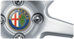 Wheel Centre Badges - Alfa Romeo (set of 4)