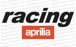 Bike Decal (Pair of) Aprilia 6
