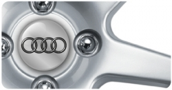 Wheel Centre Badges - Audi 1 (set of 4)