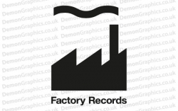 Factory Records Sticker