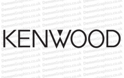 Kenwood Sticker