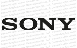 Sony Sticker