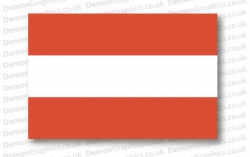 Austria Flag (Pair)